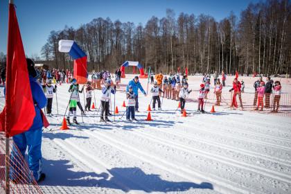 Лыжные соревнования в Калашниково. Фото: Евгений Козлов