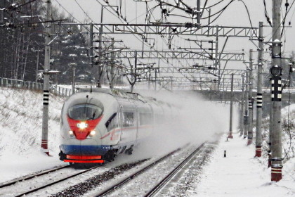 Высокоскоростной поезд «Сапсан». Фото: train-photo.ru
