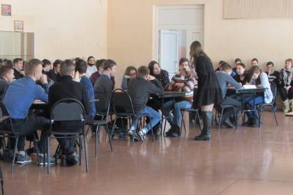 «Брейн-ринг» для старшеклассников. Фото: lihoslavl69.ru