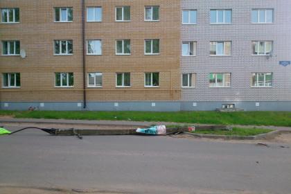 Место ДТП. Фото: 360tver.ru