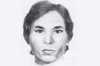 Фоторобот разыскиваемой женщины