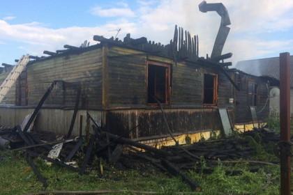 Последствия пожара. Фото: https://vk.com/donotchirp