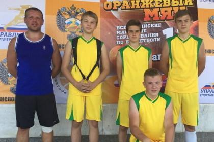 Лихославльские баскетболисты