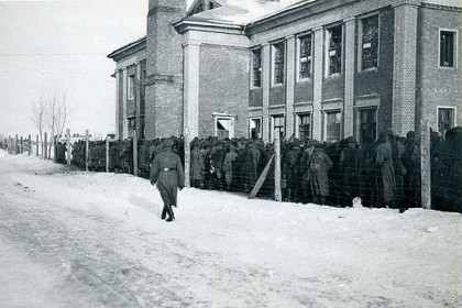 Лагерь смерти «ДУЛАГ-100». Фото: из личного архива Михаила Туха