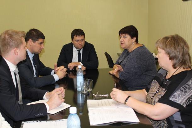 Заседание посвящённое новой большой стройке. Фото: Юлия Новикова