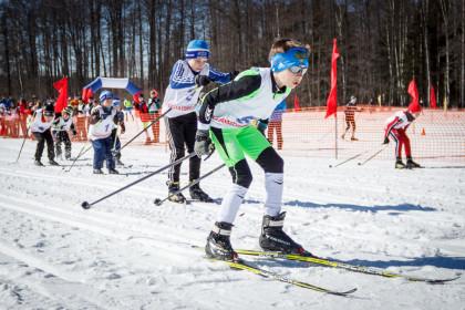 Лыжные соревнования в Калашниково