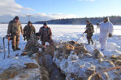 На месте раскопок. Фото: optver.ru