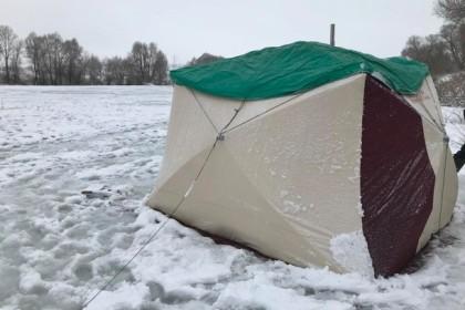 В Тверской области двое рыбаков умерли в палатке на льду