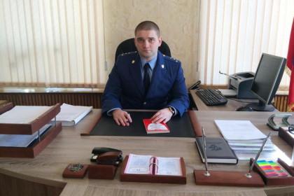 Прокурор Лихославльского района, младший советник юстиции Кузин Е.П.