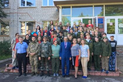 Участники слета «Школа молодого поисковика». Фото: Евгений Козлов