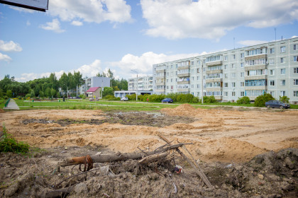 Благоустройство территории «Парк 70-летия Победы». Фото: Евгений Козлов