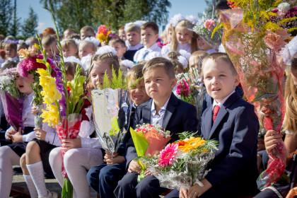День знаний в Лихославльском районе. Фото: Евгений Козлов