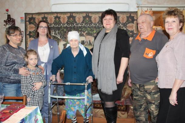 Мария Александровна Атанова отметила свой 100-летний юбилей