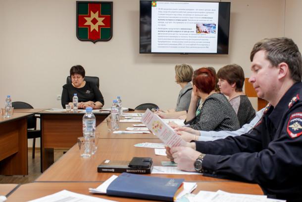 Заседание комиссии по решению демографических проблем. Фото: Евгений Козлов
