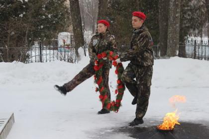 Гражданско-патриотическая акция «Снежный десант». Фото: https://vk.com/snowdesant