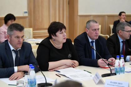 Заседание межведомственной комиссии по обеспечению реализации регионального проекта «Формирование комфортной городской среды» в Правительстве Тверской области
