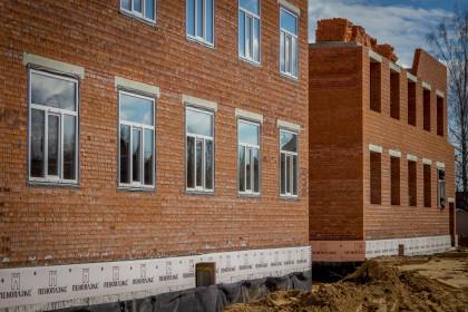 Строительство нового детского сада в Лихославле. Фото: Пресс-служба администрации Лихославльского района