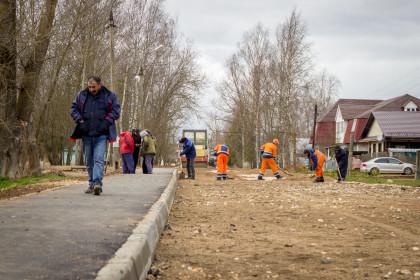 В Лихославле идет ремонт улицы Пролетарской. Фото: lihoslavl69.ru