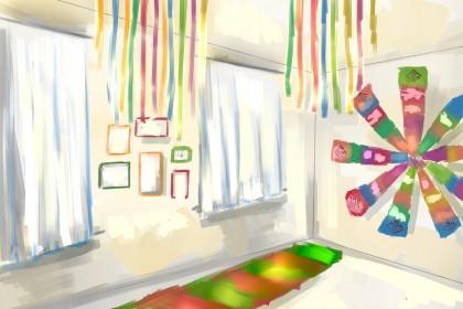 Эскиз проекта выставочного зала «Дом карельской культуры»