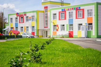 В городе Лихославле готовится к вводу в эксплуатацию здание нового детского сада «Юбилейный»