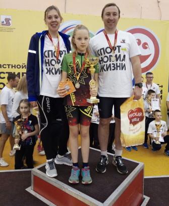 Семья Снежковых завоевала второе место в областном «Фестивале спортивных семей»