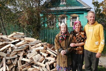 Благотворительный проект «Подари дрова» номинирован на всероссийскую премию
