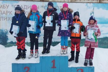 В Лихославле определились победители муниципального этапа Всероссийской лыжной гонки «Лыжня России»