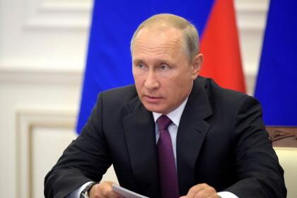 Президент Владимир Путин. Фото: 31tv.ru
