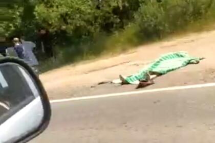Под Лихославлем мужчина погиб под колесами автомобиля на пешеходном переходе